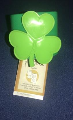 YANKEE CANDLE ELECTRIC SCENT PLUG BASE ~ SHAMROCK~ LUCKY ST