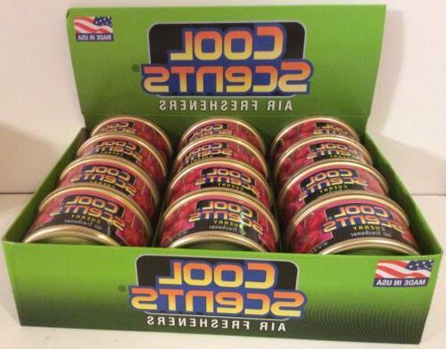 12 Cans Scents Car Office Air