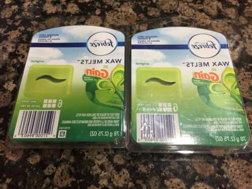 2 original gain scented wax melts air