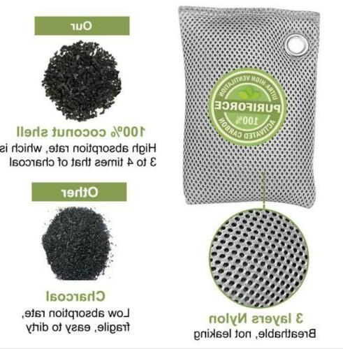 Bags Fresh Charcoal Coconut Purifier Mold Odor