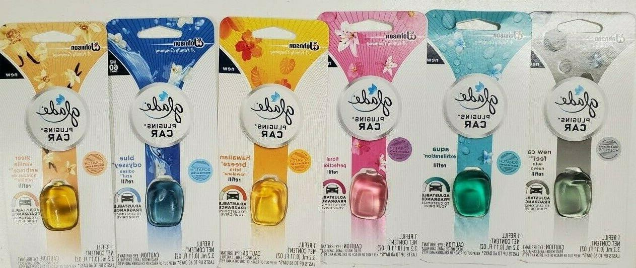 4 units plugins car air freshener starter