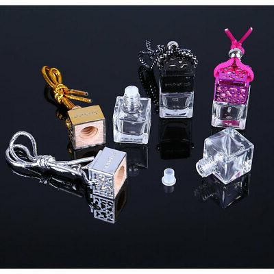 5x hanging empty car perfume bottle diffuser