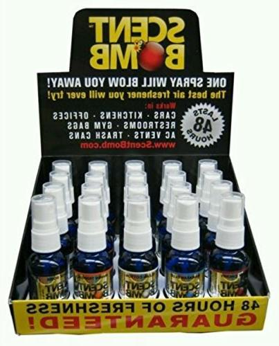 Scent Bomb 1oz Pure Concentrated Air Freshener 20 Different