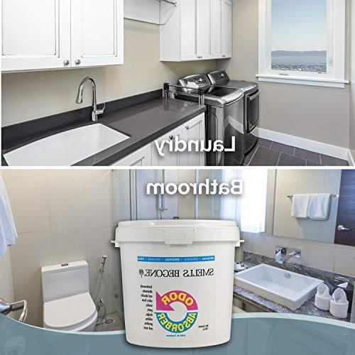 Smells Odor Gel - & Homes, Garages & Commercial Buildings - Industrial Size Strength - Non-Toxic - Original Scent