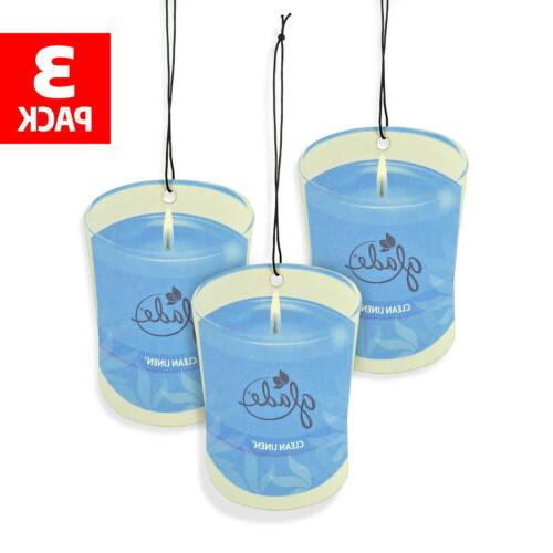 car air freshener 3 pack candle design
