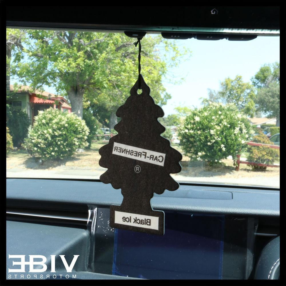 Little Trees Car Home Office Hanging Freshener Black Ice