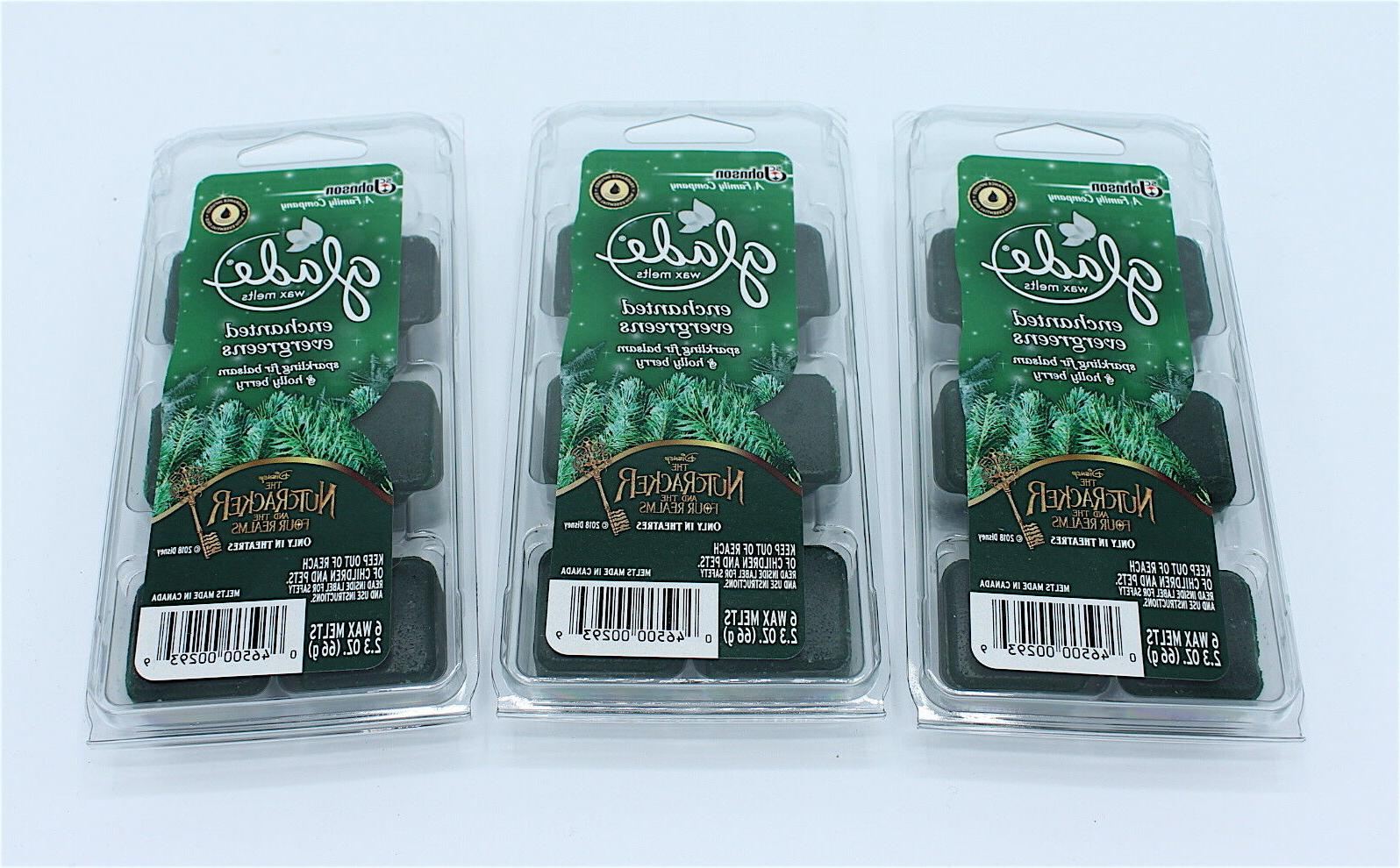 enchanted evergreens 3 packs of 6 limited