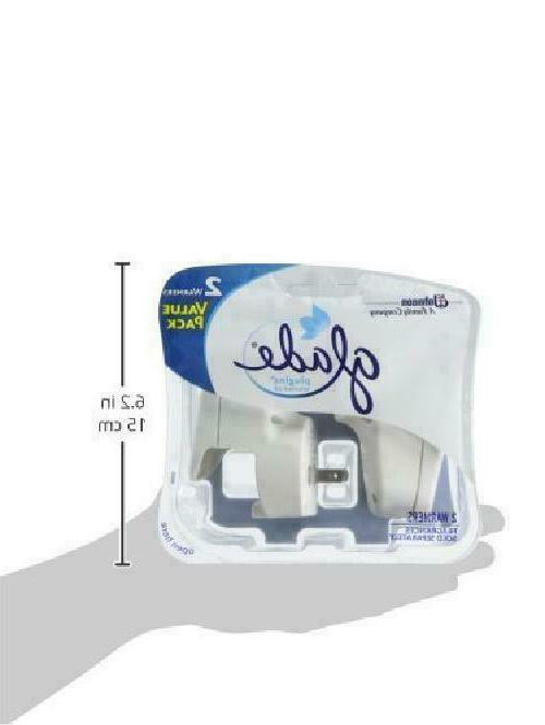Glade Air Freshener, Clean 6 Refills Warmers,