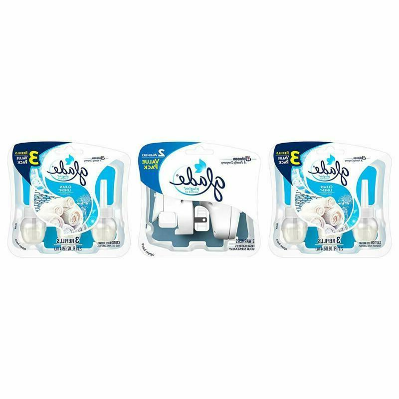 glade plugins scented oil air freshener clean