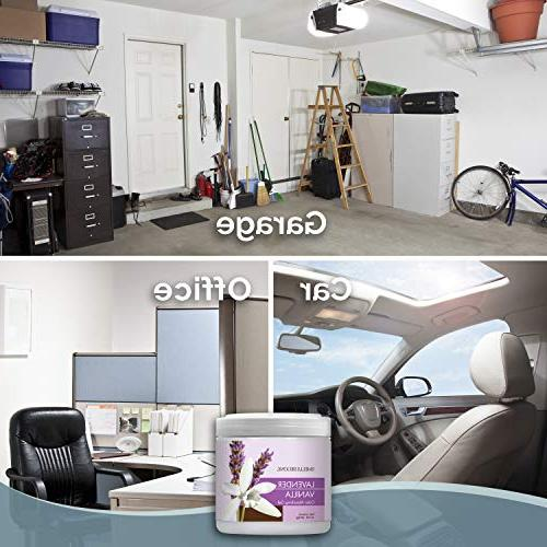 Odor Gel Absorbs Odor from Cars, Pet Boats and RVs Made