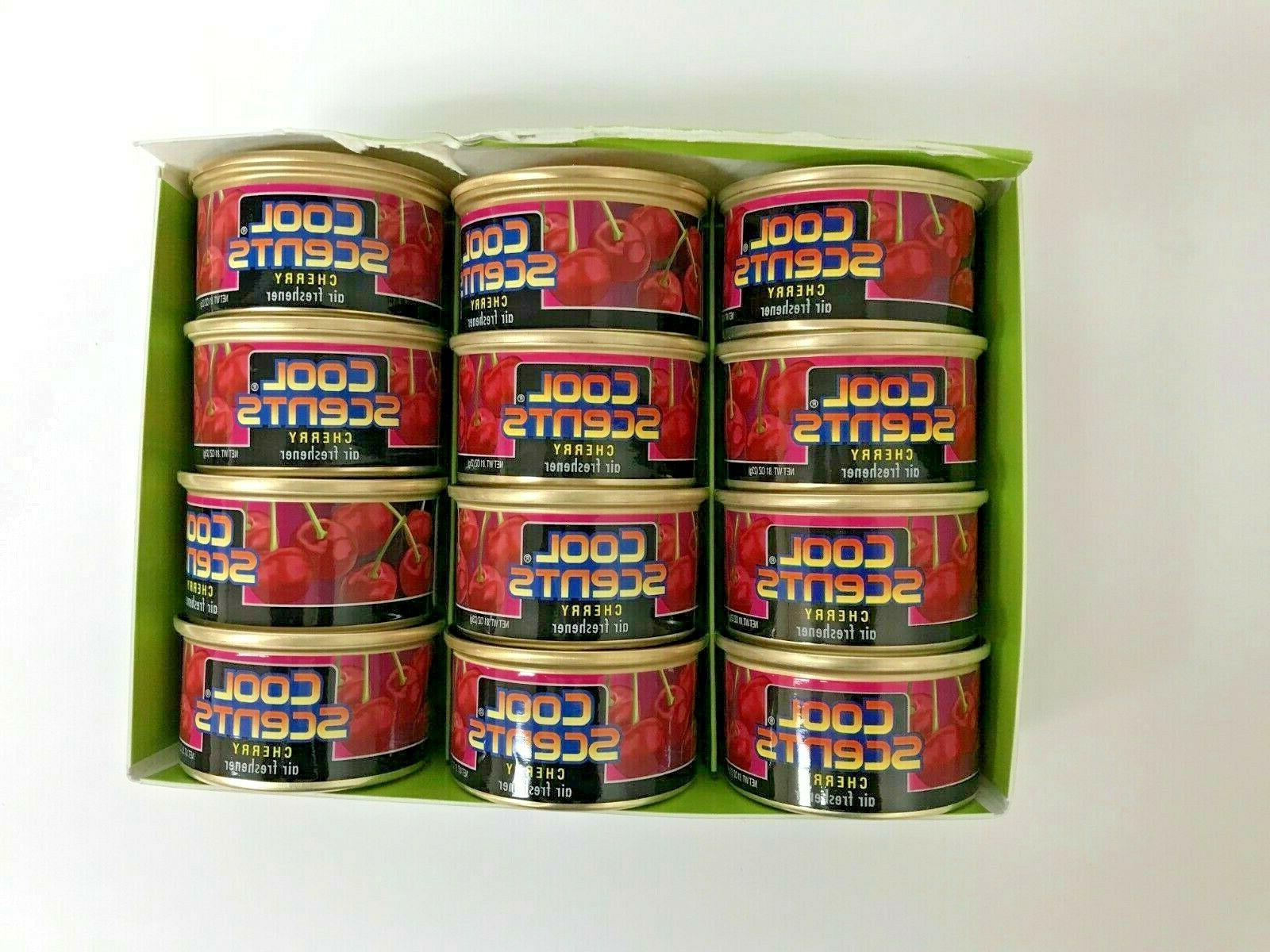 Lot OF 12 Cans Of California Scents