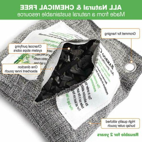 Naturally Activated Charcoal Air Odor Neutralizer