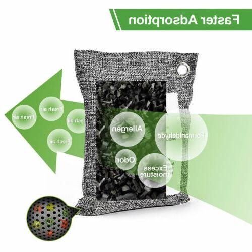 Naturally Charcoal Air Purifying Bag Odor Neutralizer