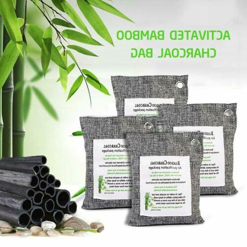 naturally activated bamboo charcoal air purifying bag
