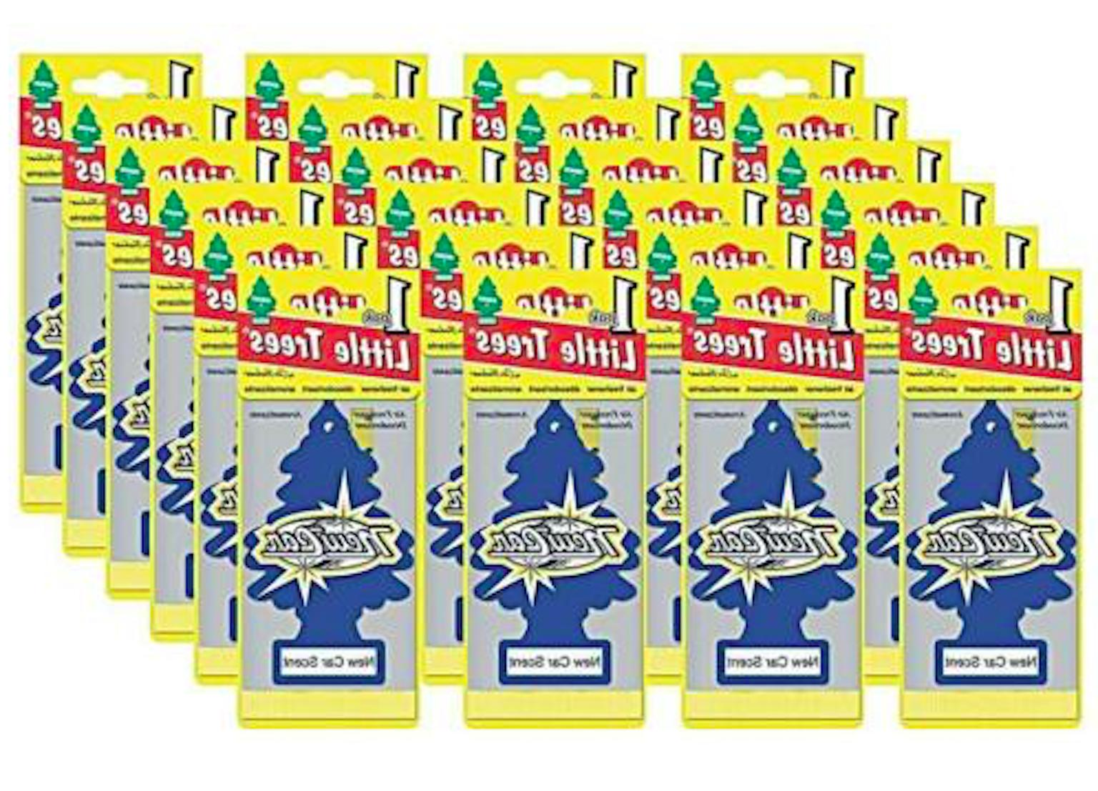 new car scent tree air freshener 24