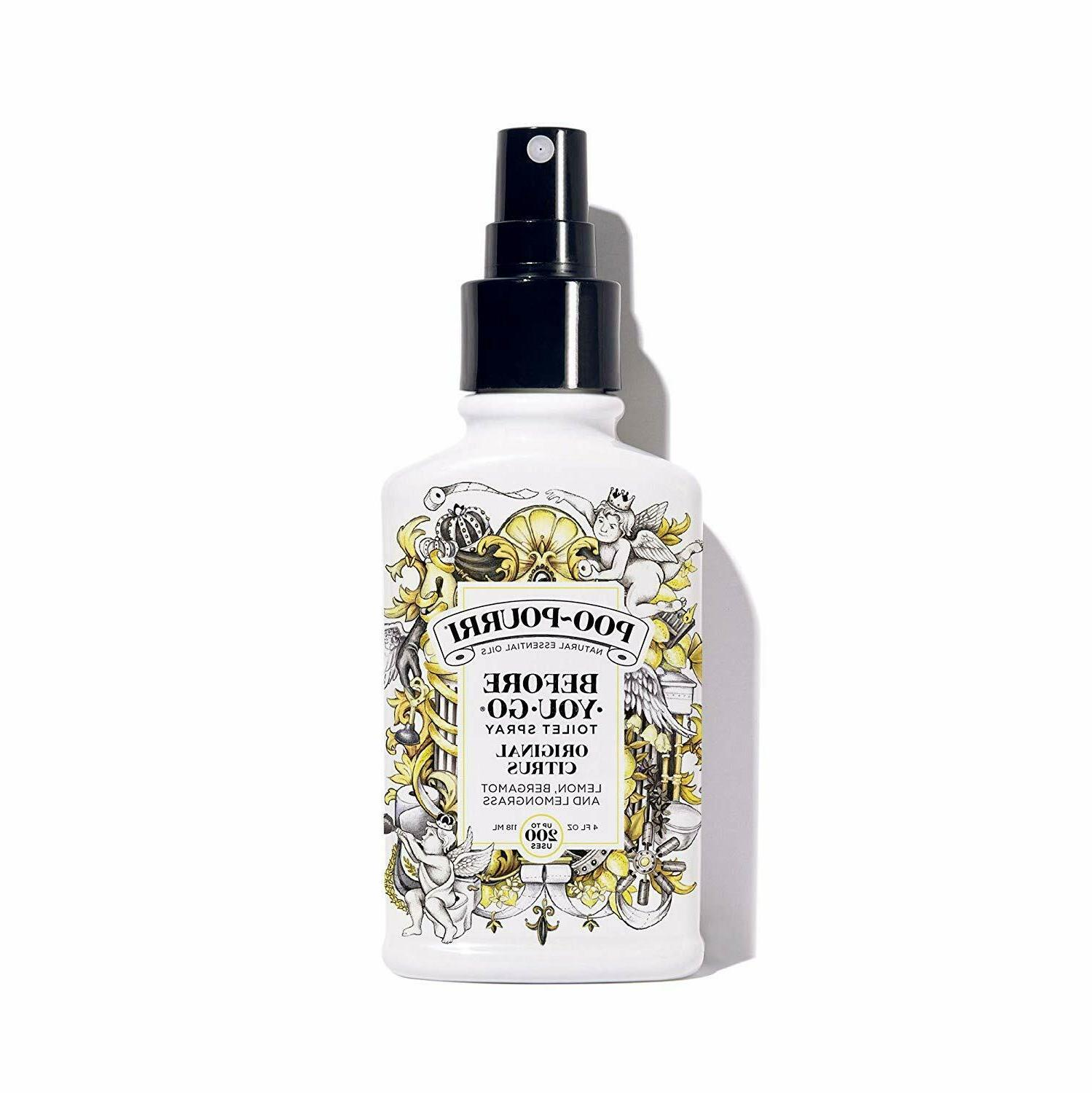 poo pourri toilet spray original citrus scent