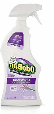 OdoBan 32 OZ Ready-to-Use Lavender Disinfectant Fabric and A