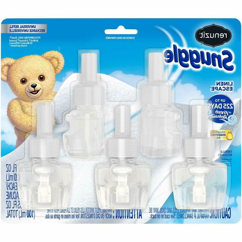 Renuzit Snuggle Scented Oil Refill for Plugin Air Fresheners