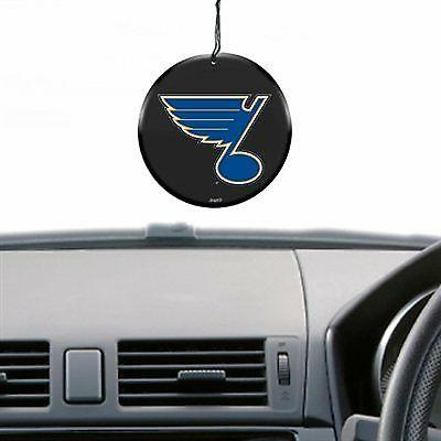 st louis blues puck air freshener vanilla