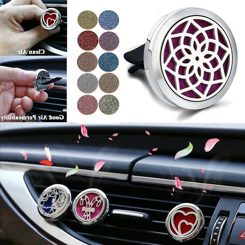 stainless steel aromatherapy car essential oil diffuser
