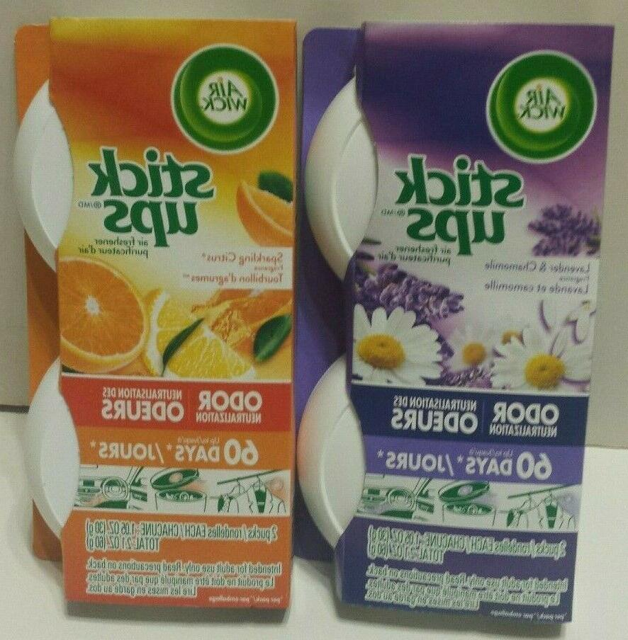 stick ups air fresheners citrus and lavender