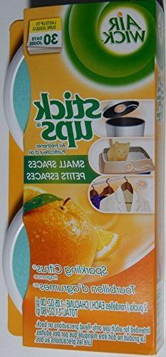 Air Wick Stick Ups Small Spaces Air Freshener Sparkling Citr