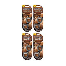 leather air freshener pack with 2 x