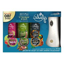 GLADE LIMITED EDITION VARIETY PACK Automatic Air Freshener A