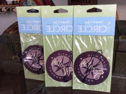 "Lot 3 Scentsy Scent Circle Air Fresheners ""Comfort & Joy"" Ca"
