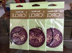 """Lot 3 Scentsy Scent Circle Air Fresheners """"Spice Bazaar"""" Car"""