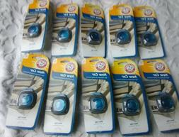 Lot of 10 Arm & Hammer New Car Vent Clip