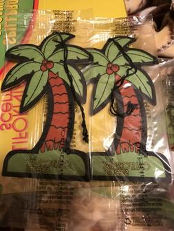 Lot of 2 Brand New California Scent Palm Tree Coronado Cherr