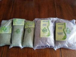 Lot of 5 Norwex natural Air Fresheners 2 large & 3 small sea