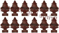 Lot Of New 12 Pack Little Trees Air Freshener Leather Scent