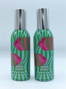 Lot x2 Bath and Body Works Beach Cabana Home Room Spray Air