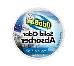 OdoBan Mountain Air Solid Odor Absorber Air Freshener Gel, D