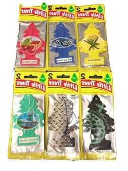 LITTLE TREES NEW CAR SCENT LOT 16 AIR FRESHENERS & LITTLE TR