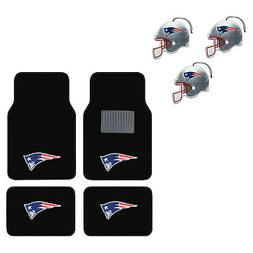 NFL New England Patriots Car Truck Carpet Floor Mats & Hangi