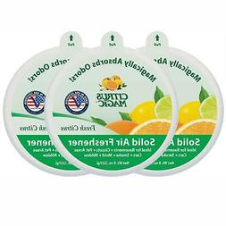 Citrus Magic Odor Absorbing Solid Air Freshener Fresh Citrus