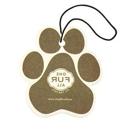 Pet House Car Air Freshener by One Fur All, Pack of 4 – Pu