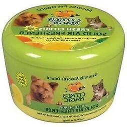 Citrus Magic Pet Odor Absorbing Solid Air Freshener - Fresh