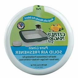 Citrus Magic Pet Odor Absorbing Solid Air Freshener Pure Lin