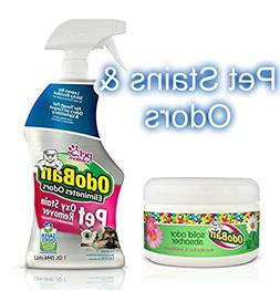 Pet Odor Eliminator, Odoban Pet Oxy Stain Remover Odor Elimi