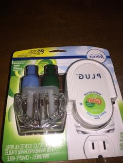 "Plug Electric In Air Freshener With Warmer "" Scented Oil Ref"