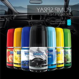 Pump Spray Air Freshener Scent Eliminates Odor Car Home Offi