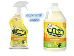 OdoBan Ready-to-Use 32oz Spray Bottle and 1 Gal Concentrate,