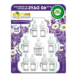 Air Wick Scented Oil Air Freshener 9 Refills, Choose Your Sc