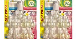 Air Wick scented oil plug in with 9 additional refills , Vir