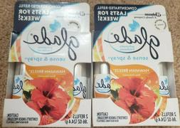 Glade Sense and Spray Automatic Air Freshener Refill, Hawaii