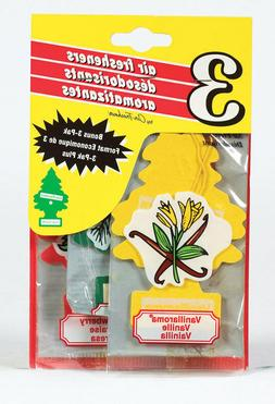 Set of 3 Little Trees Car Automotive Air Fresheners Room Off